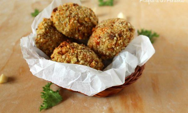 Polpette di Patate Carote e Broccoli con cuore filante