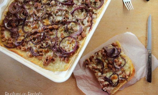 Pizza Fagioli e Cipolla