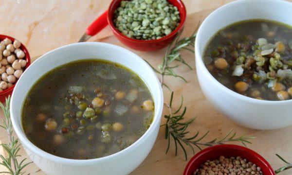 Zuppa di Ceci, Lenticchie, Piselli