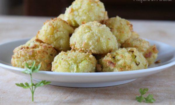 Crocchette di Patate e Porro