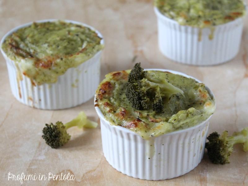 Tprtino di patate broccolo con mozzarella