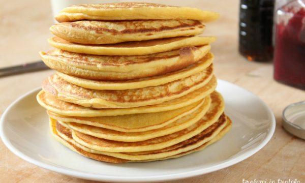 Pancake Senza Lievito