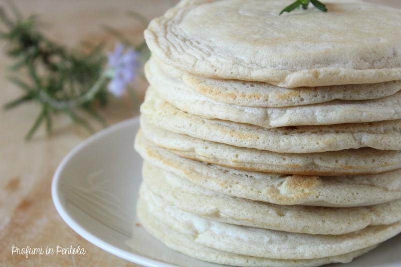 pancake salati senza lievito