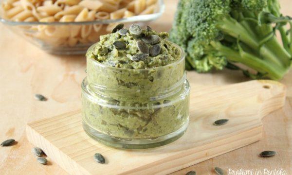 Pesto di Broccolo e Semi di Zucca