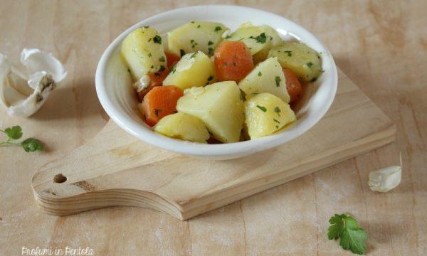 Patate e Carote al Prezzemolo