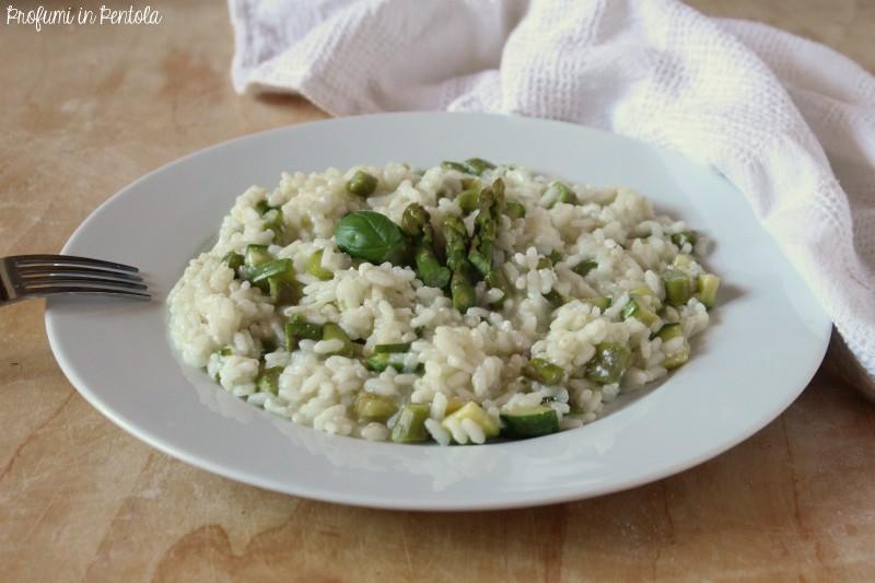 Risotto Asparagi Zucchine.Risotto Asparagi Zucchine E Ricotta Profumi In Pentola