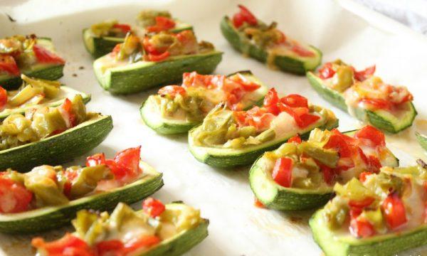 Barchette di Zucchine alle Verdure