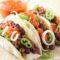 Tacos con Lenticchie e Fagioli