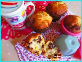 muffin allo yogurt e tre cioccolati