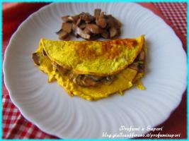 omelette ai funghi champignon