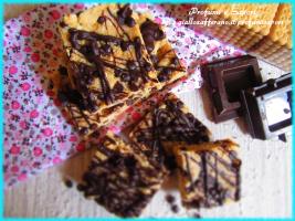 biscotti al cocco e cioccolato senza cottura