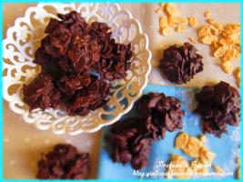 dolcetti di cornflakes e cioccolato