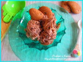 gelato con le gocciole