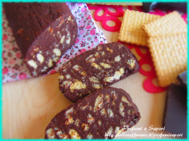 salame di cioccolato e ricotta