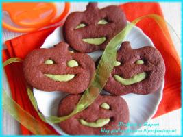 biscotti zucca cacao e pistacchio