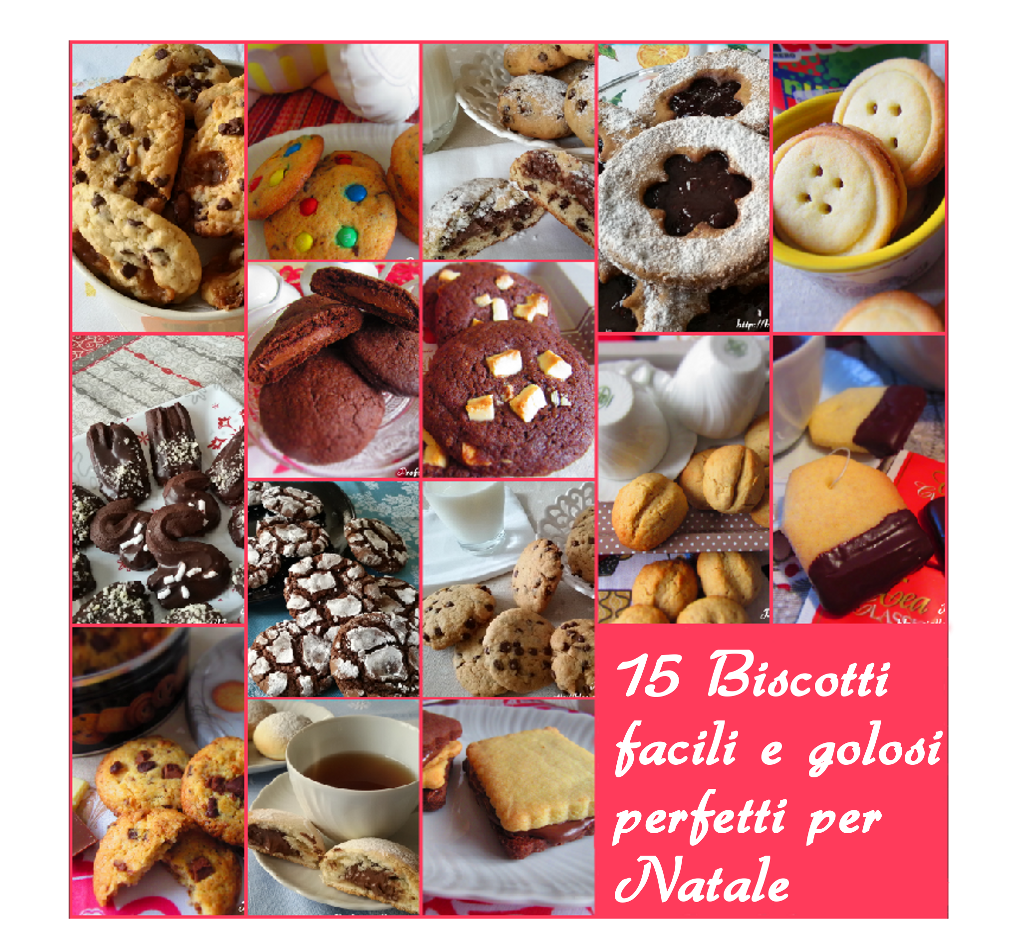 15 biscotti per natale