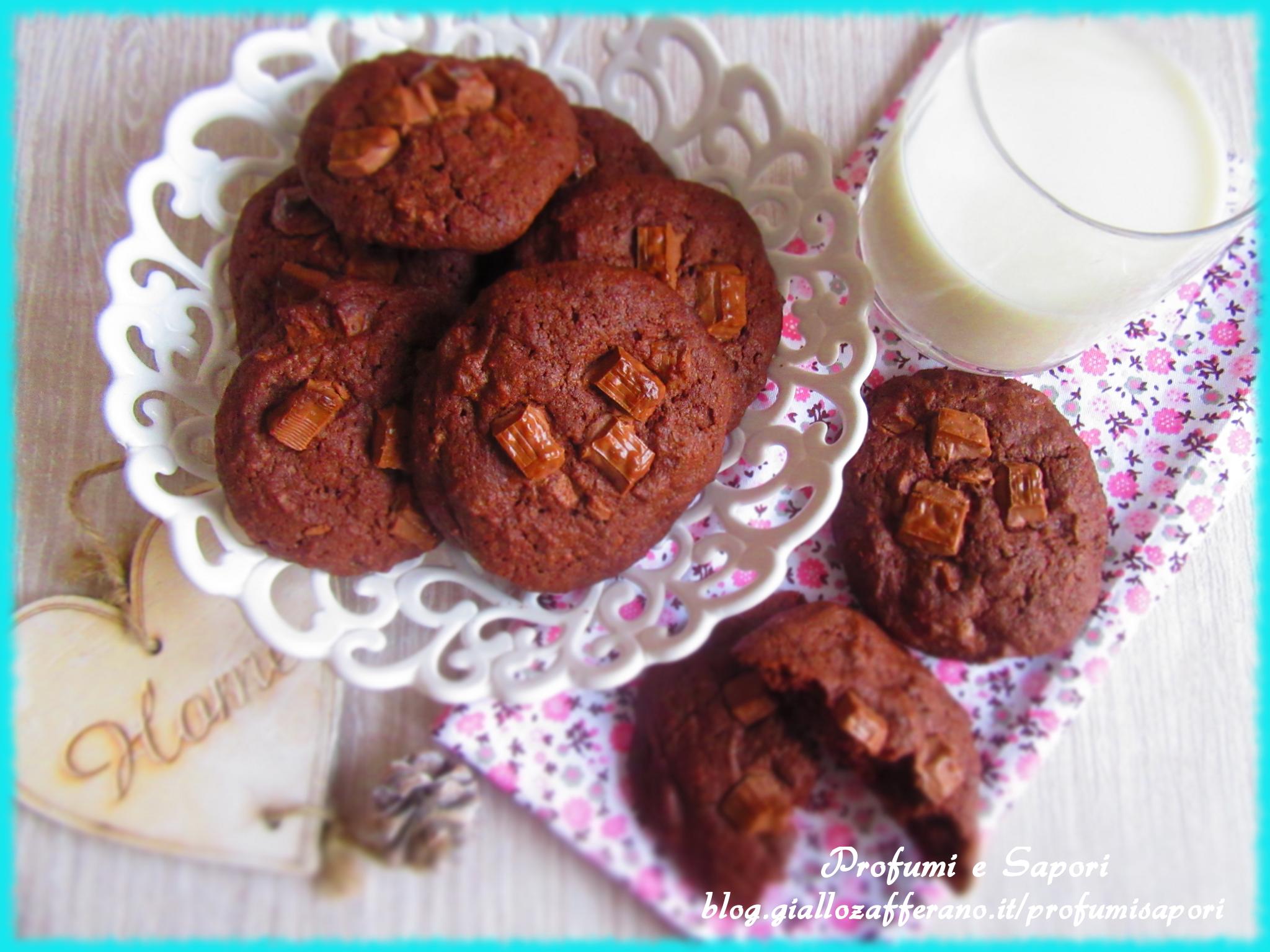 cookies al cicocolato al latte