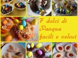 7 dolci di pasqua facili e veloci