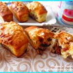 mini plumcake alla panna e triplo cioccolato