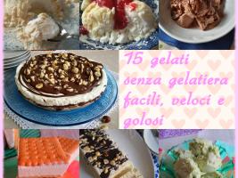 raccolta gelati senza gelatiera