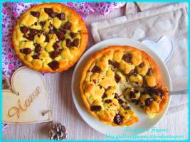 mini sbriciolate al pistacchio e cioccolato