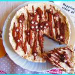 CHEESECAKE PAN DI STELLE, CAFFÈ E NUTELLA (senza gelatina)