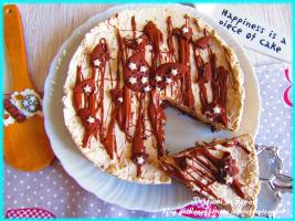 cheesecake pan di stelle e caffè