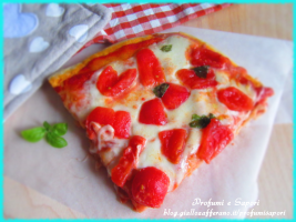 PIZZA IN TEGLIA ALTA E SOFFICE CON SOLO 1 G DI LIEVITO