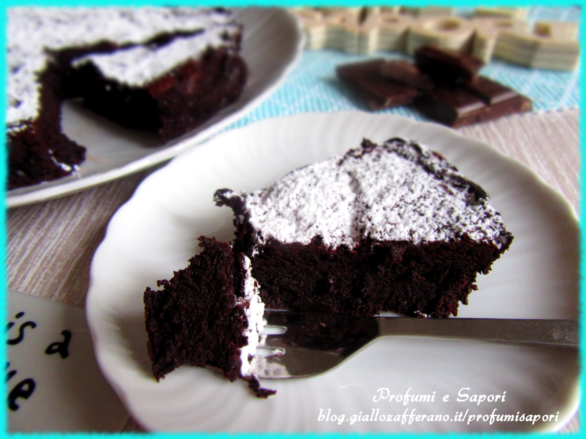 torta al cioccolato senza farina