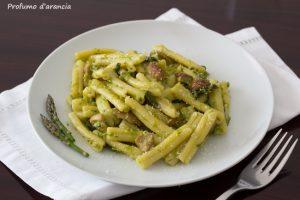 Pasta asparagi e porcini