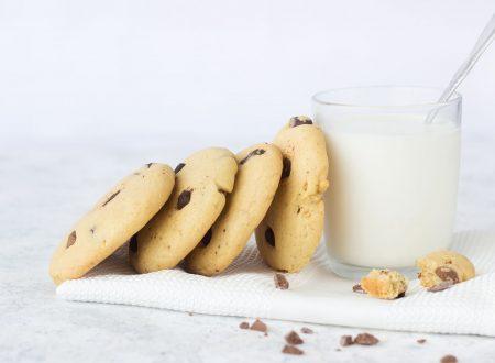 Cookies al cioccolato senza burro