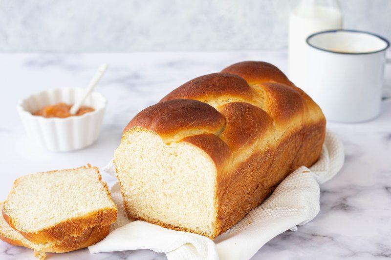 Pan brioche alla ricotta, senza burro