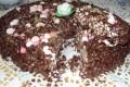 torta al cioccolato con riso soffiato della parodi