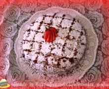 la mia profumatissima torta PUFFRAGOLA