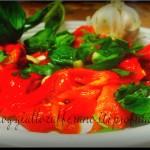 pesce spada e peperoni arrostiti alla siciliana