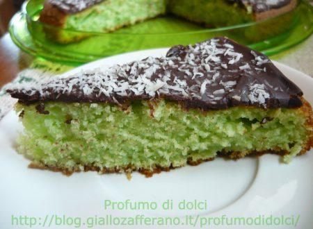 Torta cocco-ciocco-menta