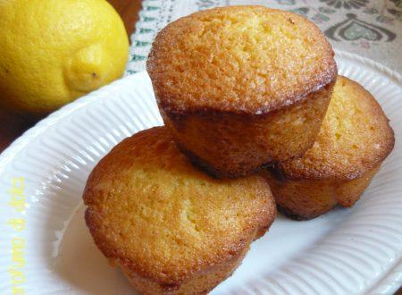 Tortine profumate al limone