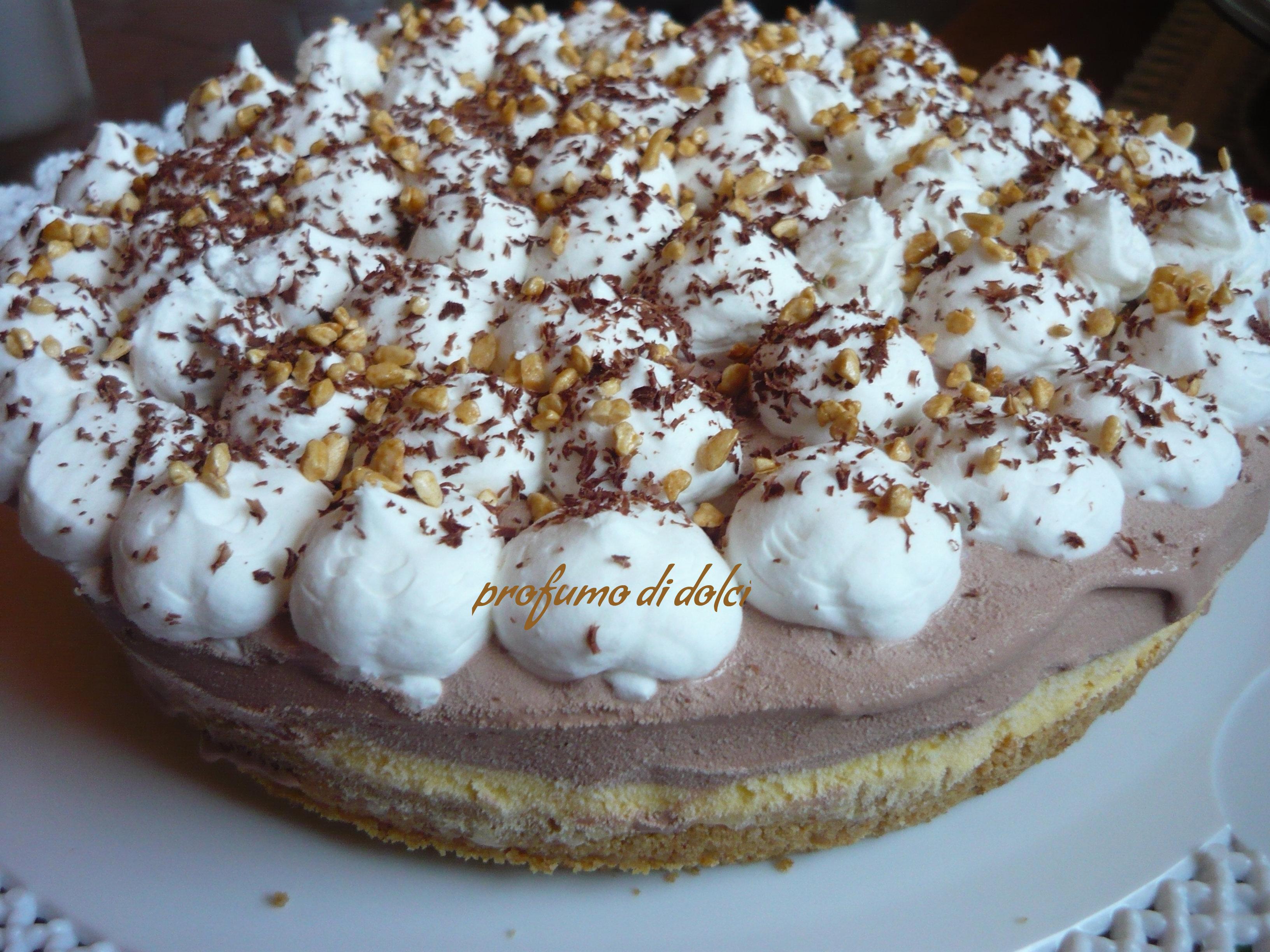 Torta Gelato Stile Cheesecake