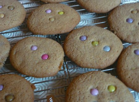 Cookies agli smarties