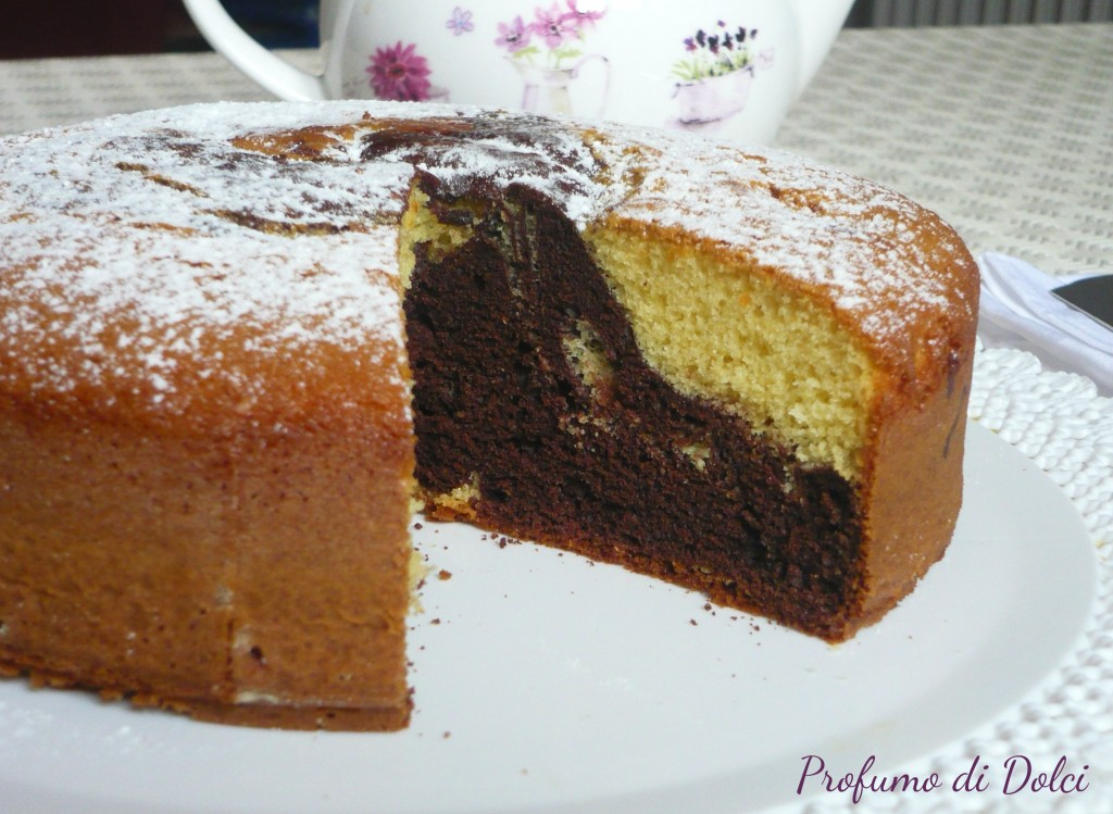 Torta bicolore for Dolci dietetici