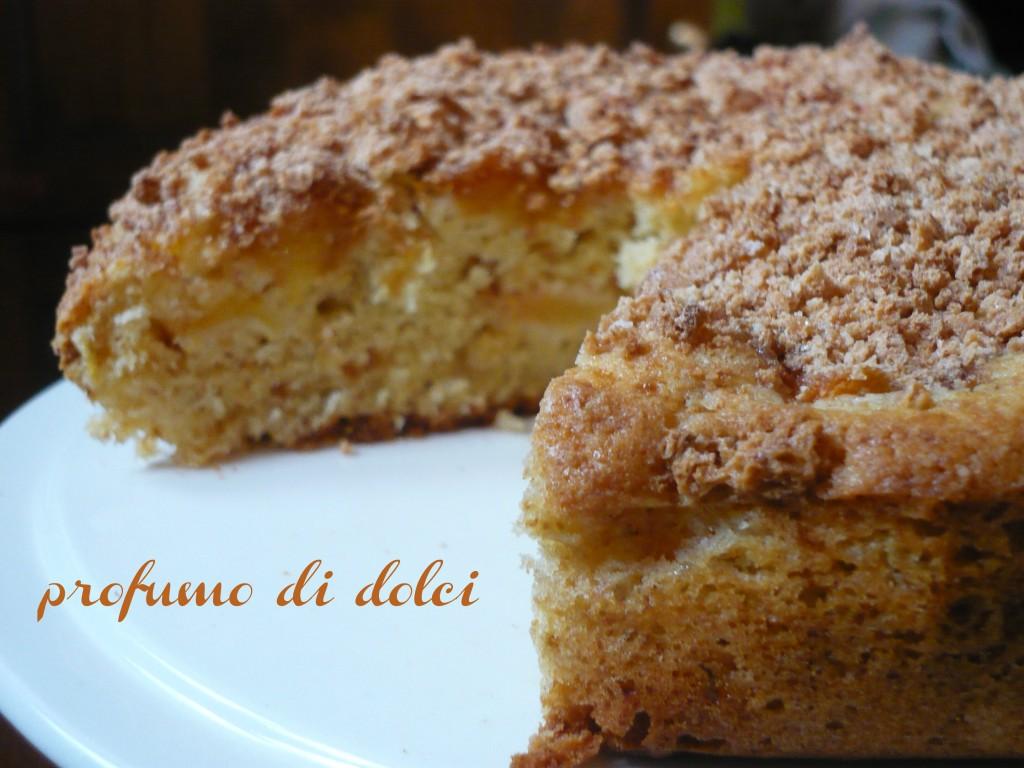 torta pesche amaretti 2
