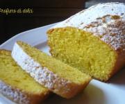 Plum cake al limone e olio d'oliva