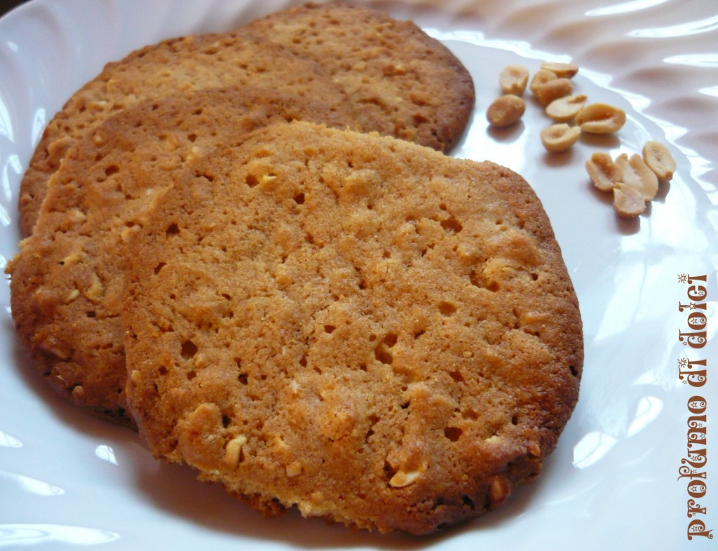 cookies burro arachidi