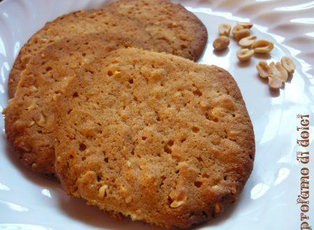 Cookies al burro di arachidi