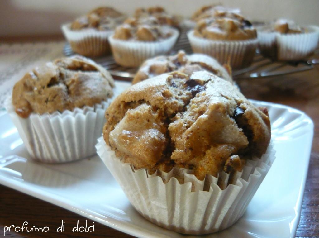 muffin farro pere cioccolato 2