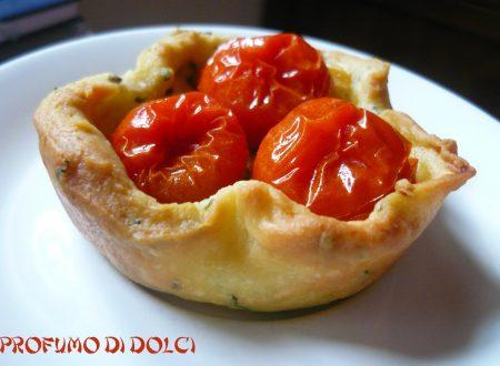 Tartellette ai pomodorini