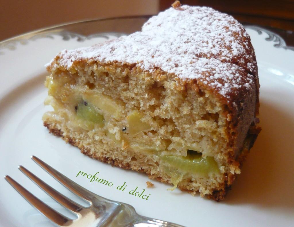 torta di mele e kiwi 2