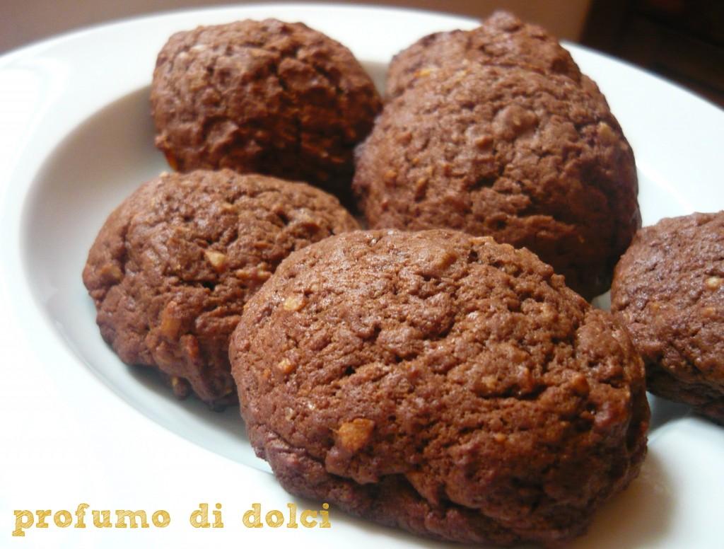 biscotti banane cioccolato