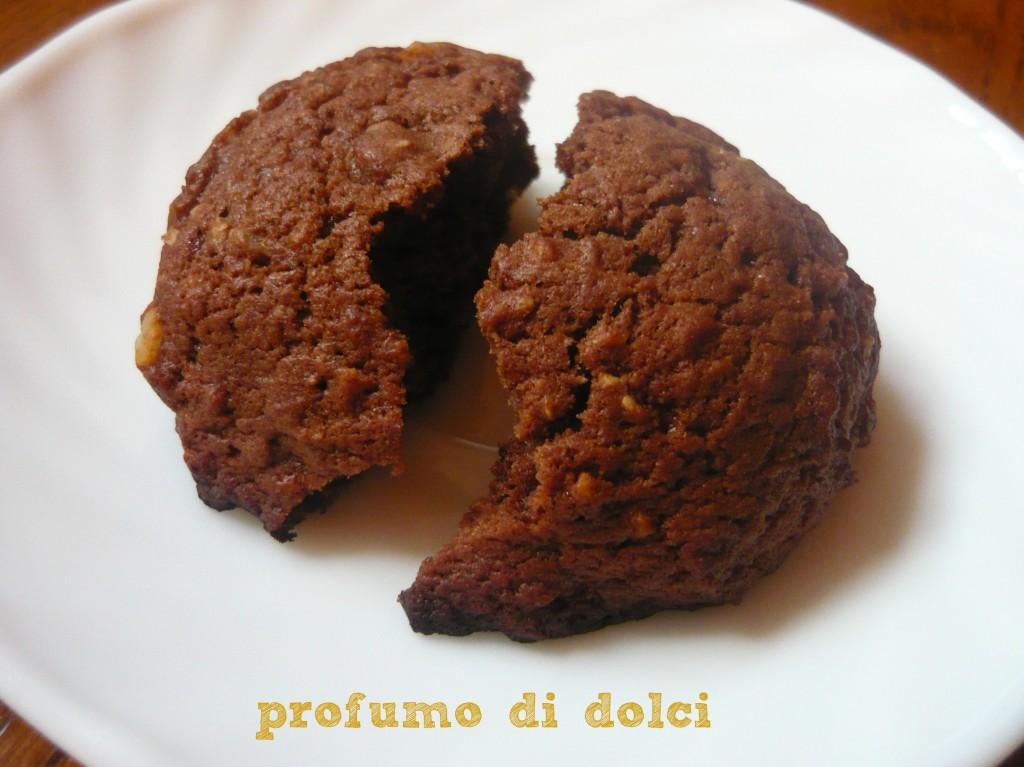 biscotti banane e cioccolato 2