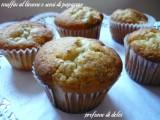 muffin limone papavero